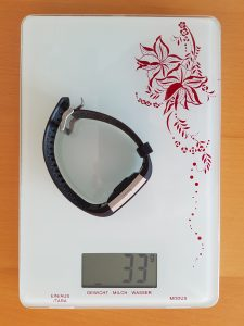 Gewicht Fitbit Charge 2