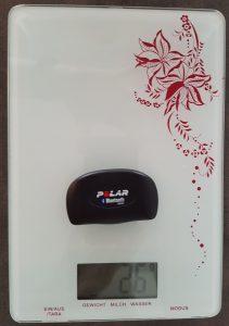 Gewicht (g) H7 Sensor