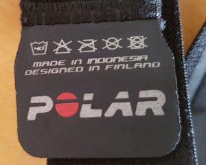 Waschanleitung Polar Soft Strap