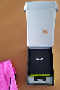 CEP Verpackung und Heftchen