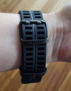 V800 Armband und Verschluß