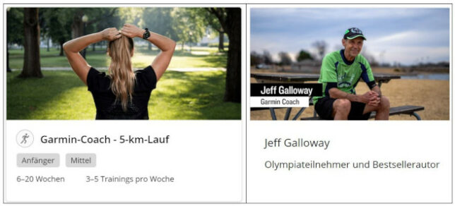 5 km Trainingsplan mit Garmin Coach Jeff